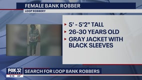Chicago's Most Wanted: Man and Woman Rob Loop Bank