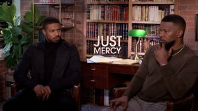 Michael B. Jordan and Jamie Foxx discuss their new film Just Mercy