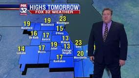 Chicagoland 9 p.m. weather: Jan 18, 2020