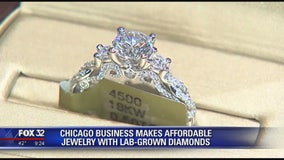 Chicago jewelry company offers affordable, lab-grown diamonds