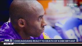 Chicagoans mourn death of NBA star Kobe Bryant