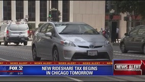 New rideshare tax goes into effect in Chicago on Monday