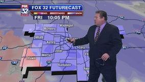 9 p.m. forecast for Chicagoland on Jan. 17