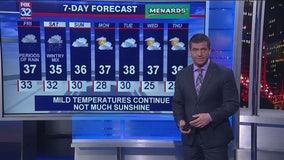 6 p.m. forecast for Chicagoland on Jan. 23