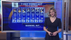 Chicagoland 10 a.m. weather: Jan. 20, 2020