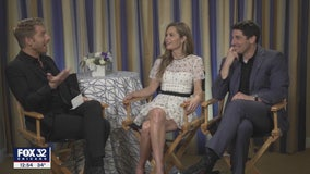 Jason Biggs, Maggie Lawson talk new FOX sitcom 'Outmatched'