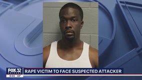 Chicago rape victim to face suspected attacker in trial