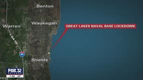 Lockdown lifted at Naval Station Great Lakes after employee drove through security checkpoint without stopping