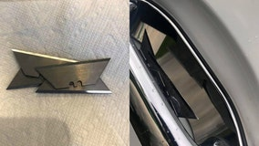 'Check your door handles': Razor blades found on vehicles in Temecula, prompting investigation