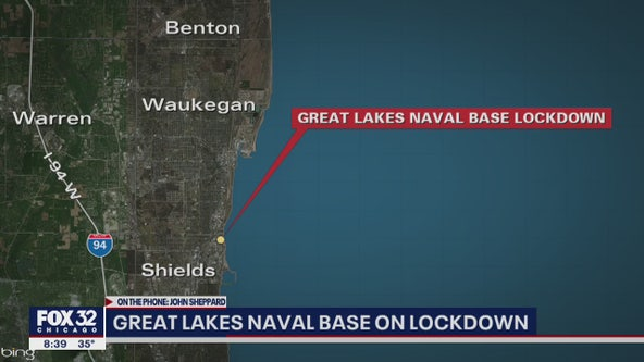 Driver in custody during 'gate runner' incident at Naval Station Great Lakes