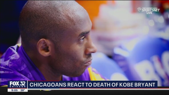 Chicagoans mourn death of NBA star Kobe Bryant