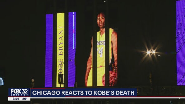 Chicagoans react to the shocking death of NBA legend Kobe Bryant