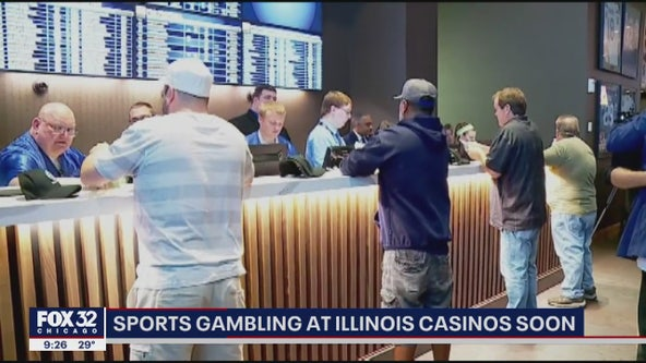 Illinois casinos may begin accepting sports wagers in February