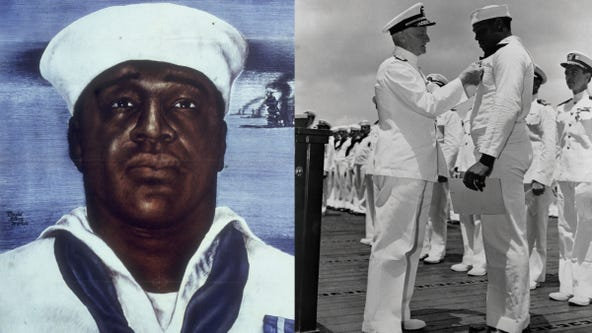 Doris Miller: What to know about the African American Pearl Harbor hero honored by US Navy