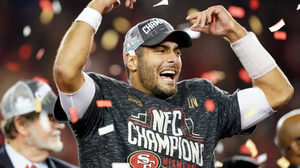 Rolling Meadows cheering for hometown hero Jimmy Garoppolo in the Super Bowl