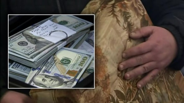 Man returns $43,000 he found in couch he bought from Michigan thrift store