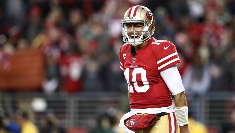 GETTY 49ers quarterback Jimmy Garoppolo