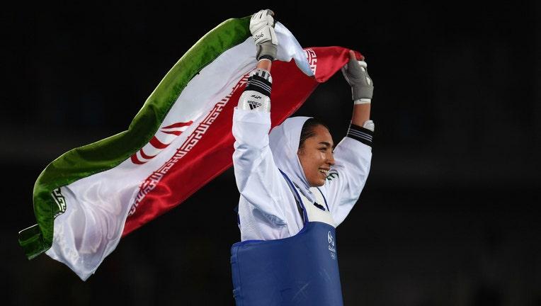 Iranian athlete Kimia Alizadeh Zenoorin has defected