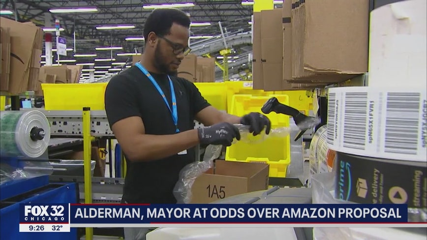 Alderman, Mayor Lightfoot at odds over Chicago Amazon proposal