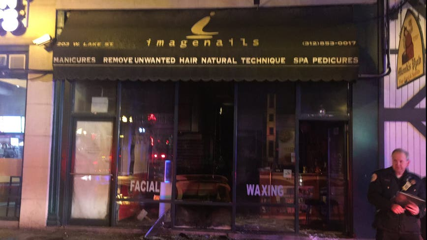 'Suspicious' blaze at Loop salon under investigation: fire officials