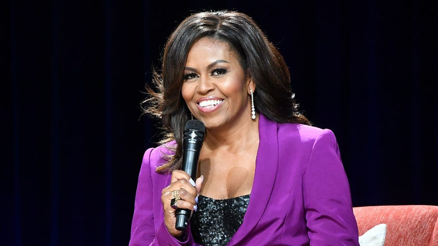 Former First Lady Michelle Obama wins Grammy for 'Becoming'