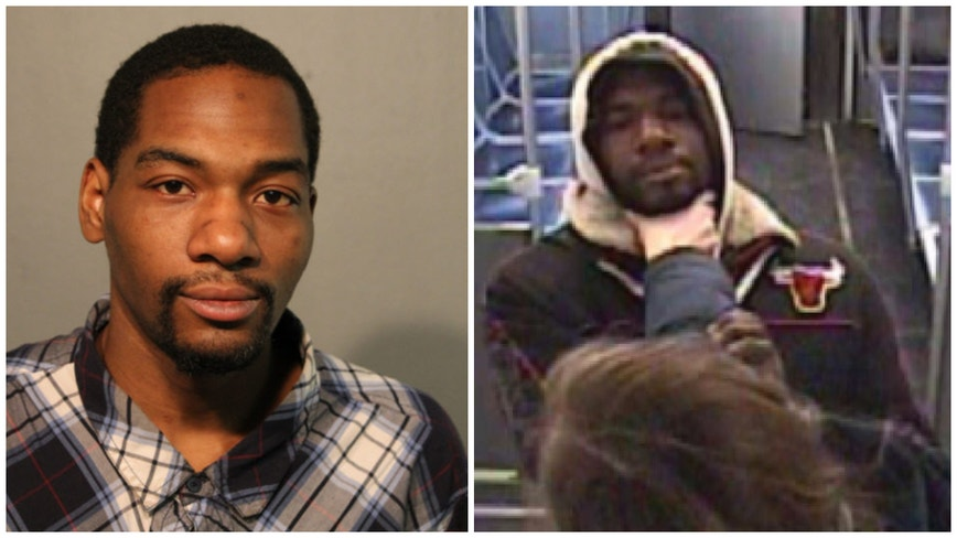 Man charged with exposing himself, robbing woman on Red Line train