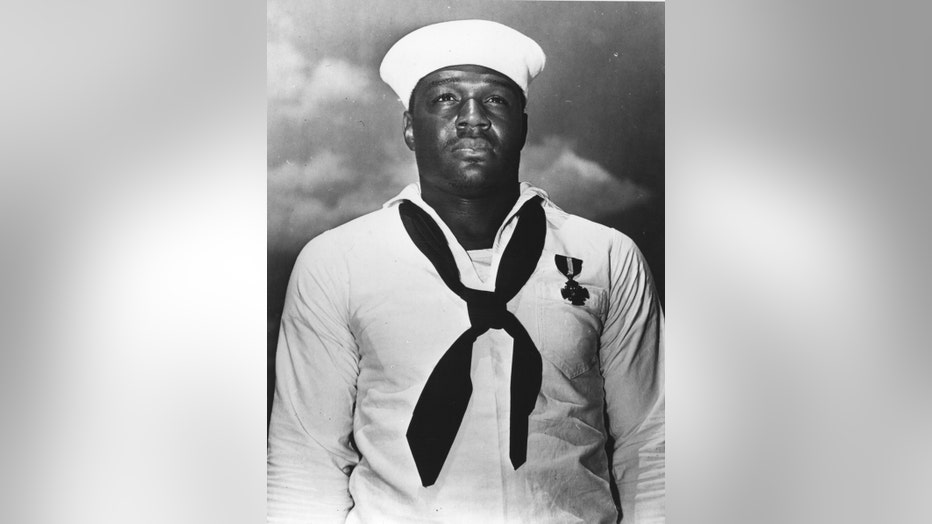 Pearl Harbor hero Doris 'Dorie' Miller