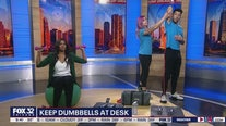 Raking in 'tiny wins' with simple workouts to do at work