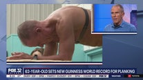 62-year-old sets Guiness World Record for planking in Illinois