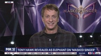 Tony Hawk revealed as The Elephant on 'The Masked Singer'