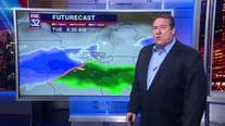 9 p.m. forecast for Chicagoland on Feb. 23