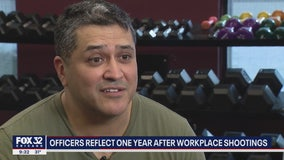 Officers reflect one year after Aurora workplace shootings