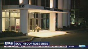 2 armed robberies reported within 10 minutes in South Loop