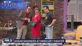 Cutting edge comedic murder-mystery 'Shear Madness' takes over Mercury Theater