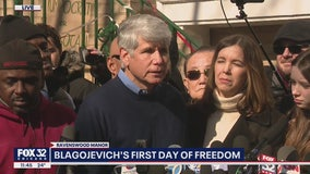 Rod Blagojevich praises Trump from Chicago home after release
