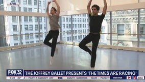 'The Times Are Racing' by The Joffrey Ballet runs through Feb. 23rd