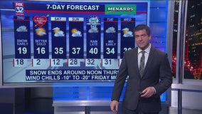 Chicagoland 6 p.m. weather: Feb. 12, 2020