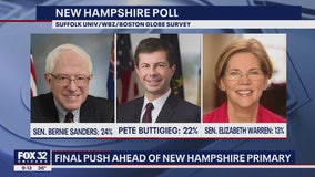 Candidates race around New Hampshire ahead of Tuesday's primary