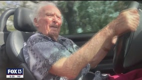 107-year-old may be Florida's oldest driver, still living life the way he wants