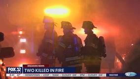 Boy, 5, and grandfather die in Cicero fire