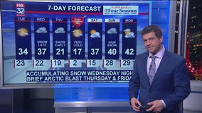 Chicagoland 10 p.m. weather: Feb. 10, 2020