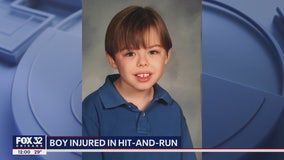 Family pleads for help, offers reward in search for hit-and-run driver who struck boy in Deerfield
