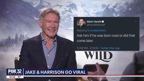 Harrison Ford answers Mark Hamill's 'fan' question