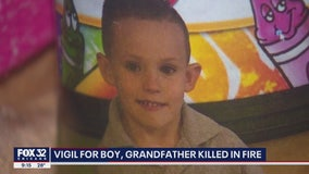 Vigil held for boy, 5, killed in Cicero fire