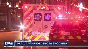 Man shot dead, 2 wounded in tunnel of CTA Jackson station in the Loop: police