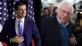 Pete Buttigieg, Bernie Sanders lead as Iowa releases partial results