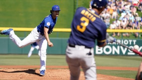 Cubs' Darvish yields home run to first batter of spring
