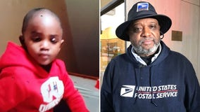 Postal worker finds 2-year-old boy safe along I-95 after he went missing overnight in Howard County