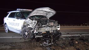 DUI driver arrested after running from head-on crash with deputy near Antioch: sheriff