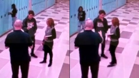 Chicago student 'nervous' when school official grabbed his face